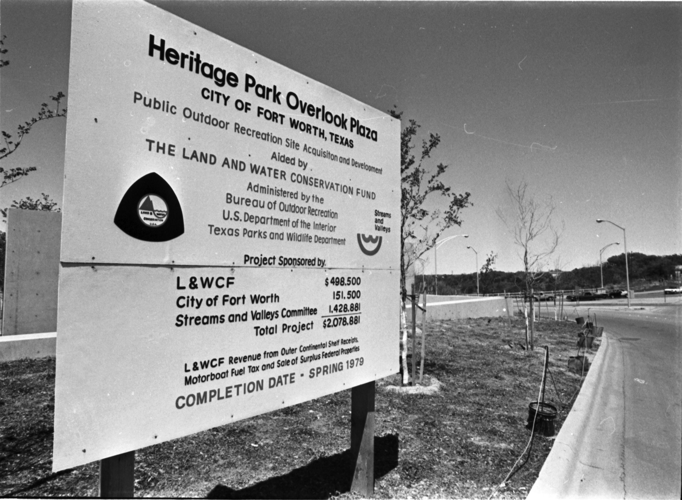 Dedication Of Heritage Park At Confluence Of Clear Fork And West