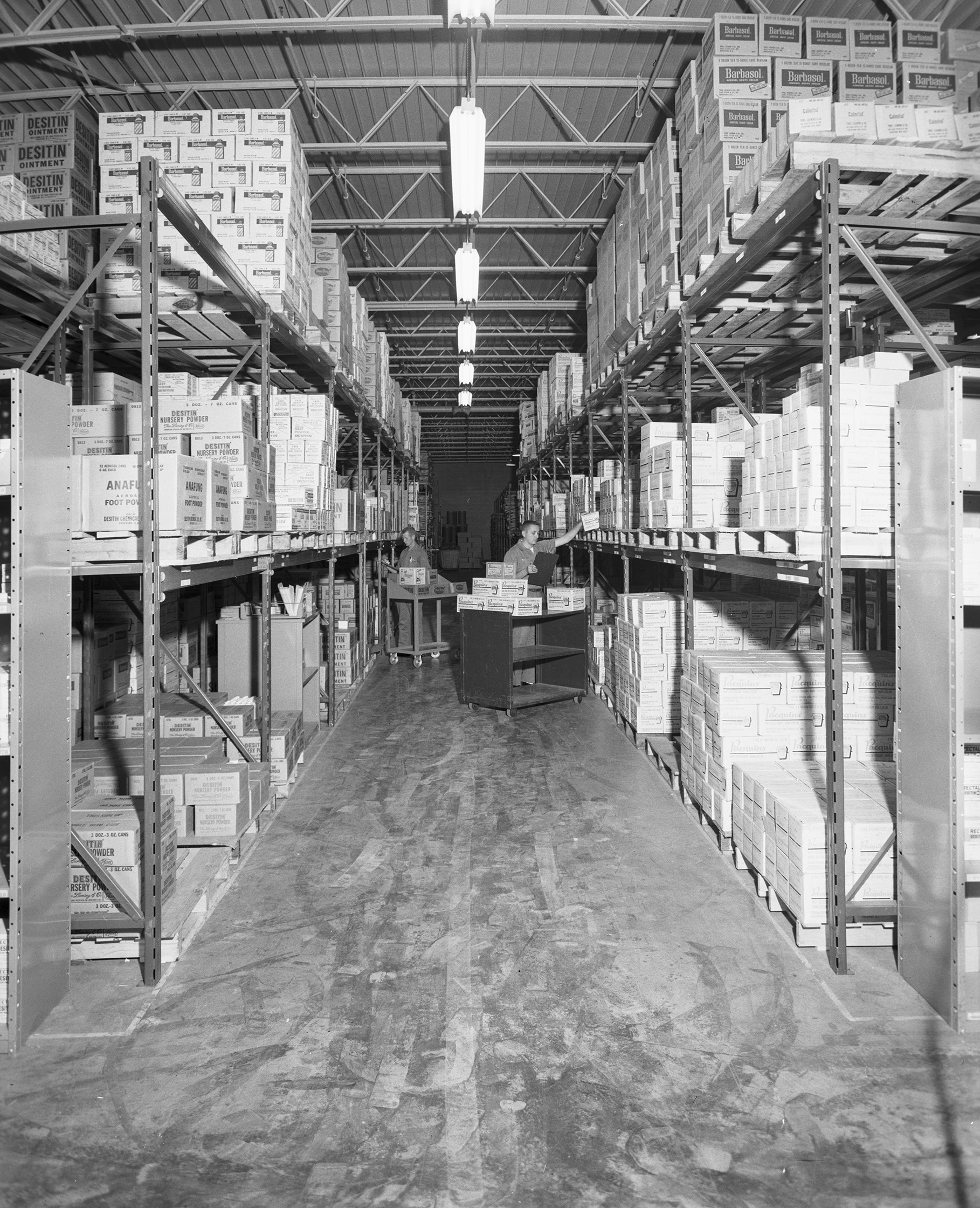 Pfizer Company Warehouse Uta Libraries Digital Gallery