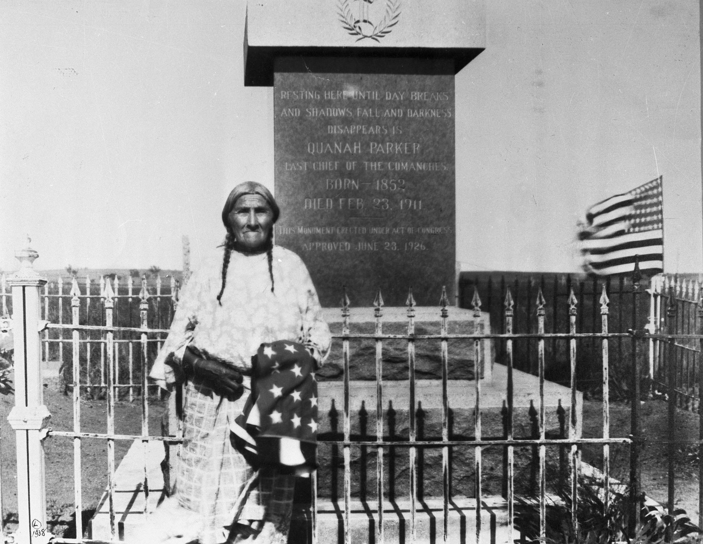 Quanah Parker Grave