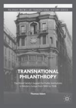 Transnational Philanthropy book cover