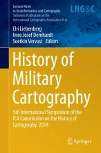 History of Military Cartography book cover