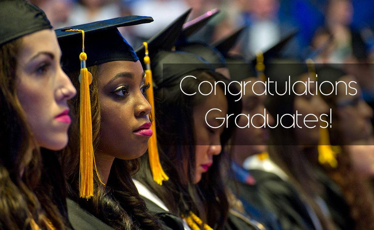 graduates participating in commencement ceremony