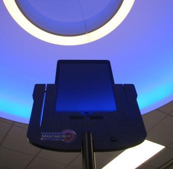 mantarobot - new telepresence robot at UTA Libraries