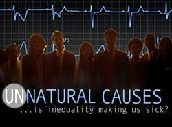 unnatural causes DVD cover