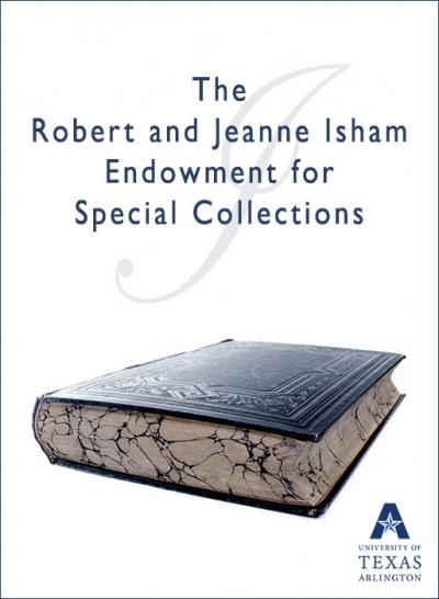 The Robert and Jeanne Isham Endowment for Special Collections