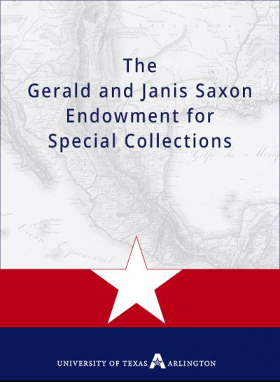 The Gerald and Janis Saxon Endowment for Special Collections