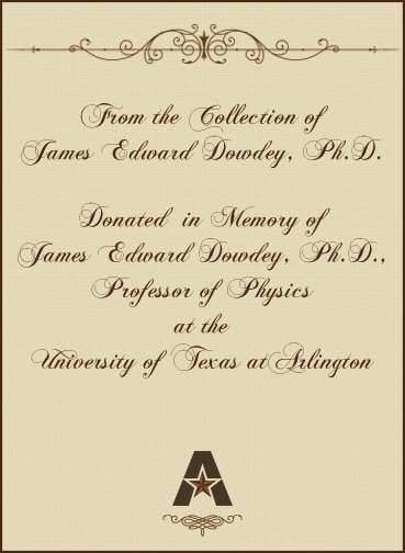 In memory of Edward Dowdey