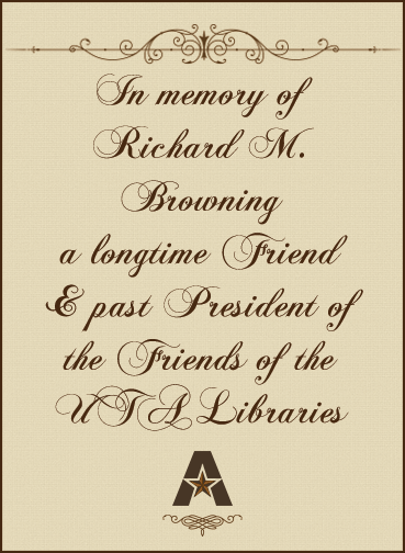 In memory of Richard Browning