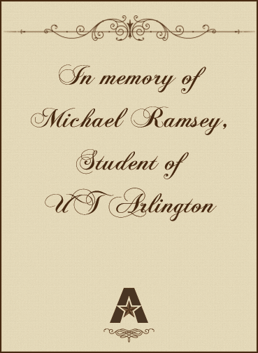 In memory of Michael Ramsey