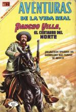 Pancho Villa comic book cover