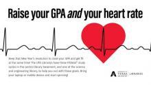 Heart monitor display