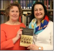 "Lea Worcester and Evelyn Barker, authors of ""University of Texas at Arlington,"" a book about the history of UTA."