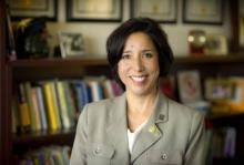 Dr. Maria Martinez-Cosio, UTA assistant vice provost for faculty affairs