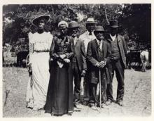 A group of African-American Texans on Juneteenth