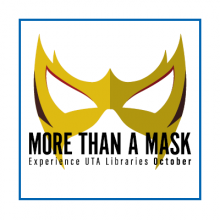 """More Than a Mask"" with mask image"