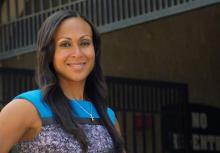 Sociology assistant professor Krystal Beamon