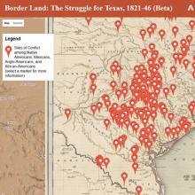 border land map
