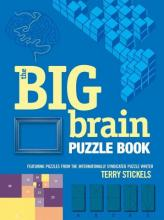 Book cover for The Big Brain Puzzle Book, by Terry Stickels