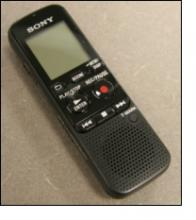 Sony digital recorder