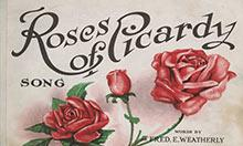 Roses of Picardy sheet music cover