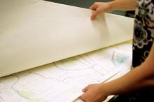 Maps in map drawer