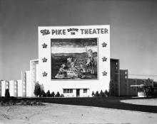 Pike Drive-In Theater in Fort Worth, Texas