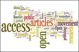 open access word cloud