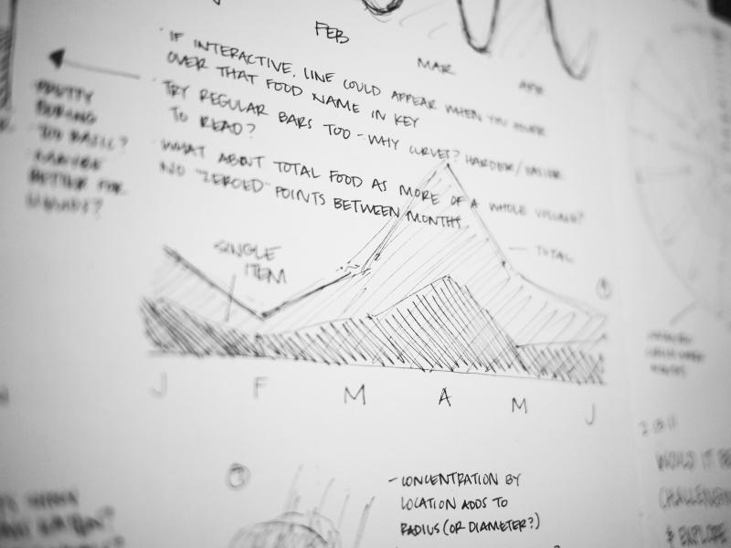 Data Viz Sketches by Lauren Manning