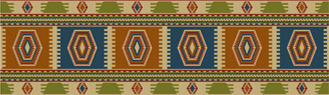 Mexican tapestery pattern