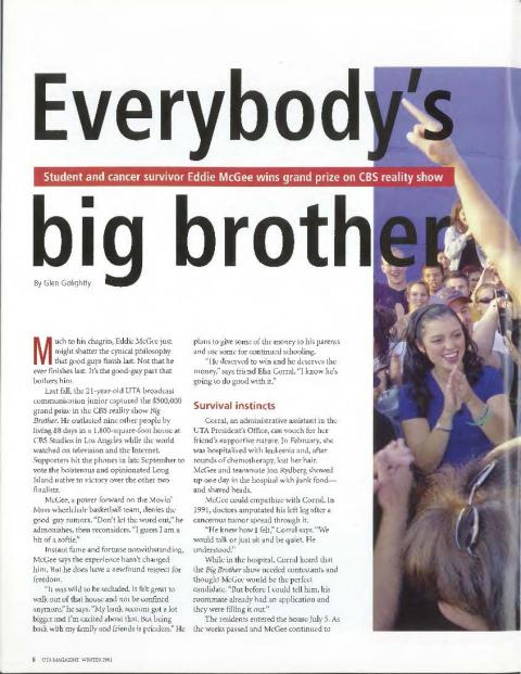 magazine article about a new reality tv show News media the big question: has reality television is the genre that deals with that, says boyd hilton of heat magazine are reality tv shows trash or.
