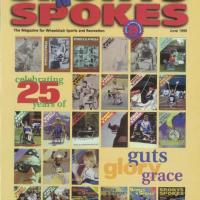 cover of Sports 'N Spokes magazine