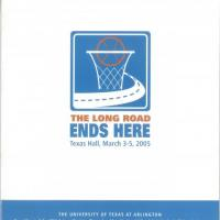 Brochure for the 28th (2005) National Wheelchair Basketball Association Intercollegiate Championship tournament