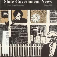 cover of State Government News magazine