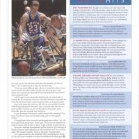 UTA Magazine blurbs announcing Sarah Casteel's championship and Danny Fiks finish in the men's division