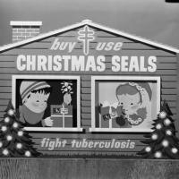 Christmas Seals marketing poster