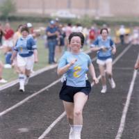 Special Olympics track competition