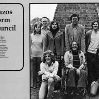 From page 338, 1975 Reveille yearbook: Brazos Dorm Council