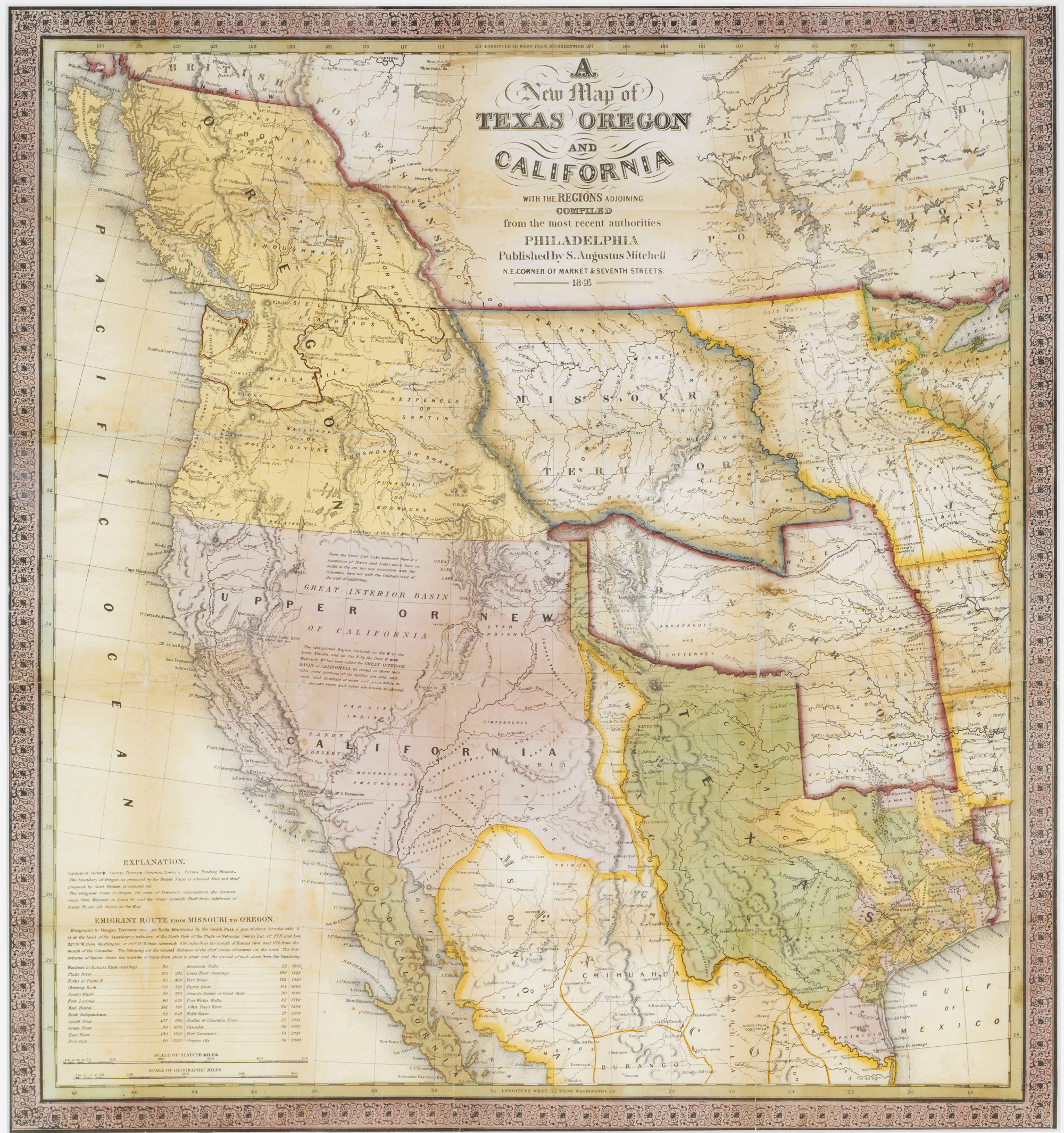 A Continent Divided The USMexico War - Map us mexico