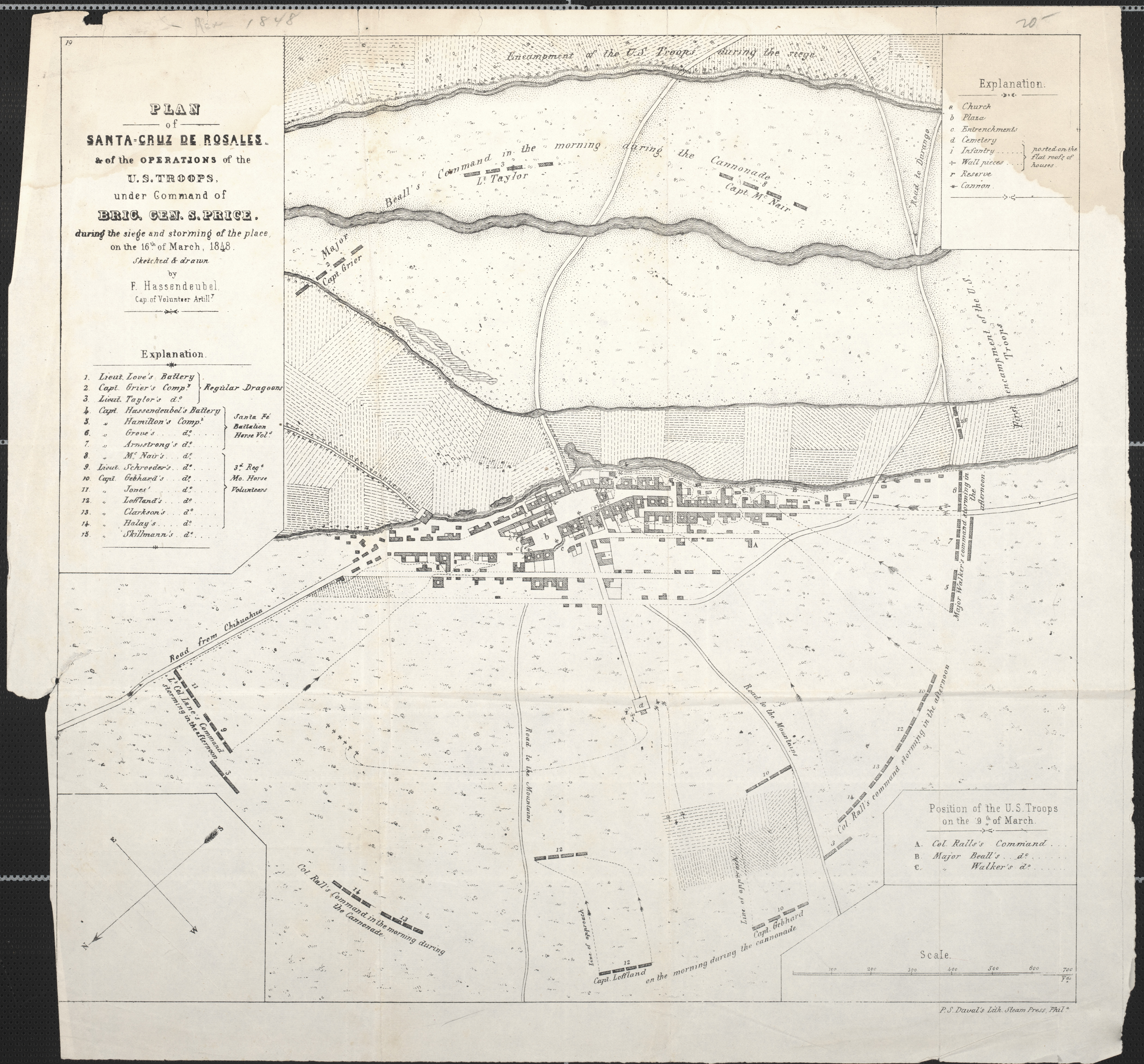 Maps: Plan of Santa-Cruz de Rosales & the Operations of the ... on golden gate bridge on us map, cupertino on us map, irvine on us map, sonoma on us map, san gabriel on us map, reno on us map, saint augustine on us map, orange county on us map, little rock on us map, mount shasta on us map, san clemente on us map, torrance on us map, arcadia on us map, burbank on us map, stockton on us map, oakland on us map, madison on us map, alamo on us map, columbia on us map, mt. lassen on us map,